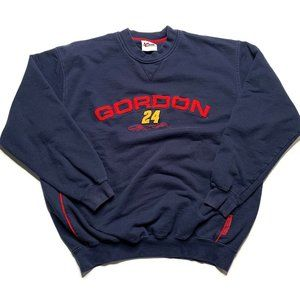 Vintage Jeff Gordon Crewneck Sweatshirt NASCAR XL